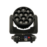 12×40W 4in1 LED RGBW ZOOM Wash Moving Head Light